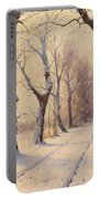 Winter Alley Portable Battery Charger