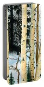 Winter Aspens Portable Battery Charger