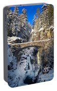 Winter At Christine Falls Portable Battery Charger