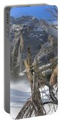 Winter At Loch Vale Portable Battery Charger