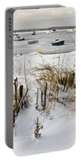 Winter At The Beach 2 Portable Battery Charger