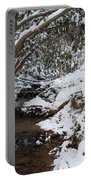 Winter At The Creek Portable Battery Charger