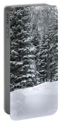 Winter Bliss Portable Battery Charger