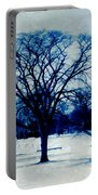 Winter Blues Portable Battery Charger