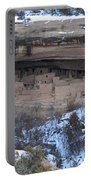 Winter Cliff Palace Portable Battery Charger