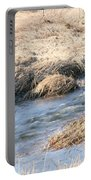 Winter Creek Flow  Portable Battery Charger