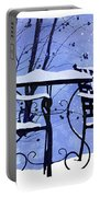 Winter Days Portable Battery Charger