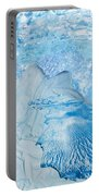 Winter Portable Battery Charger by Denise Mazzocco