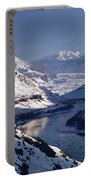612702-winter Desert River, Ut Portable Battery Charger