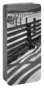 Winter Fence Portable Battery Charger