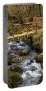 Winter Footbridge Portable Battery Charger
