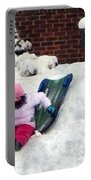 Winter Fun Portable Battery Charger