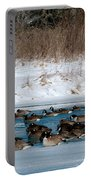 Winter Geese - 02 Portable Battery Charger