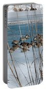 Winter Geese - 04 Portable Battery Charger
