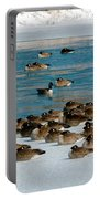 Winter Geese - 05 Portable Battery Charger