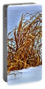 Winter Grasses II Portable Battery Charger