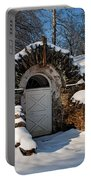 Winter Hobbit Hole Portable Battery Charger