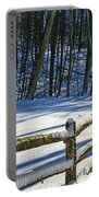Winter Hut Portable Battery Charger