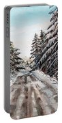 Winter In The Boons Portable Battery Charger by Shana Rowe Jackson