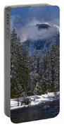 Winter In The Valley Portable Battery Charger