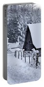 Winter In Virginia Portable Battery Charger