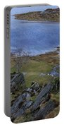 Winter Landscape Detail North Wales Portable Battery Charger