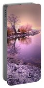 Winter Light Reflected Portable Battery Charger