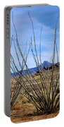 Winter Ocotillo Garden Portable Battery Charger
