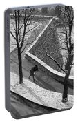 Winter On The Walls Of Bergamo Portable Battery Charger
