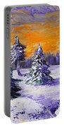 Winter Outlook Portable Battery Charger