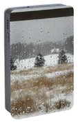 Winter Rain  Portable Battery Charger