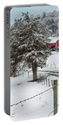 Winter Road Portable Battery Charger by Bill Wakeley