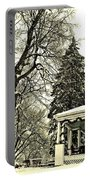 Winter Scene  Portable Battery Charger