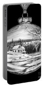 Winter Scene Ornament Portable Battery Charger