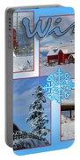 Winter Scenes  Portable Battery Charger