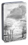 Winter Sky Drama Portable Battery Charger