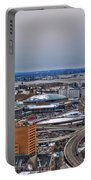 Winter Skyway Downtown Buffalo Ny Portable Battery Charger