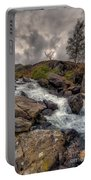 Winter Stream Portable Battery Charger by Adrian Evans