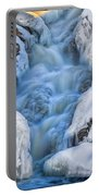 Winter Sunrise Great Falls Portable Battery Charger