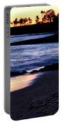 Winter Sunset In Laguna Beach II Portable Battery Charger