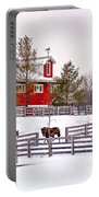 Winter Thoroughbreds Portable Battery Charger