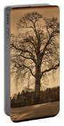 Winter Tree - Old Portable Battery Charger