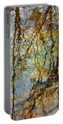 Winter Tree Reflections Portable Battery Charger