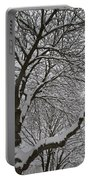 Winter Tree Portable Battery Charger