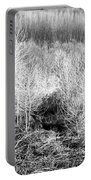 Winter Trees B And W 3 Portable Battery Charger