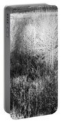 Winter Trees B And W 5 Portable Battery Charger