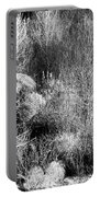 Winter Trees B And W 6 Portable Battery Charger