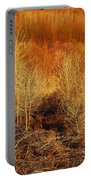 Winter Trees Color 3 Portable Battery Charger