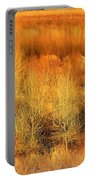 Winter Trees Color  7 Portable Battery Charger