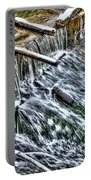 Winter Waterfall 2 Portable Battery Charger